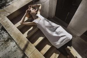 Dress and pants cocoandsilk,sandals DI GAIA .