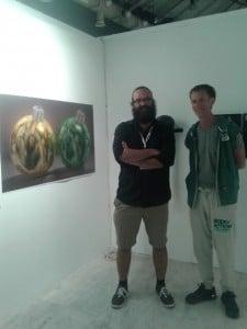 The artist Julien Boily