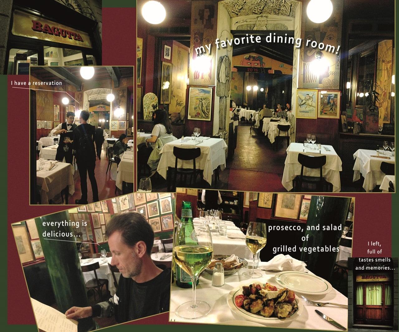 memory from dinner @ Bagutta!