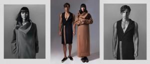 Dimitris(Acemodels)Sunglasses MUJOSH(30 C Eyewear Optima care)Black dress with lapel and beige detail DimitriosOrdoulidis,shoes Vans(FG Fashion Agencies) IoannaD(Vn models)Coat DimitriosOrdoulidis,shoes Migatoshoes