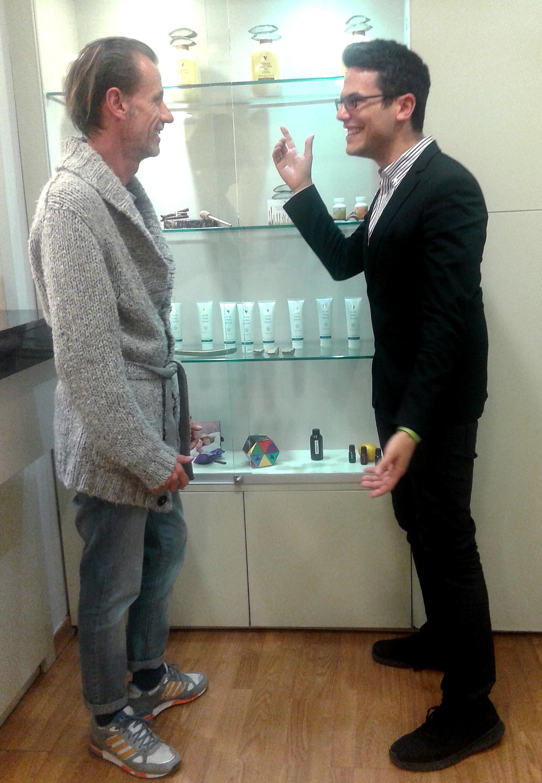 Συνάντηση με τον Κο Αλόη! Meeting with Mr Aloe!