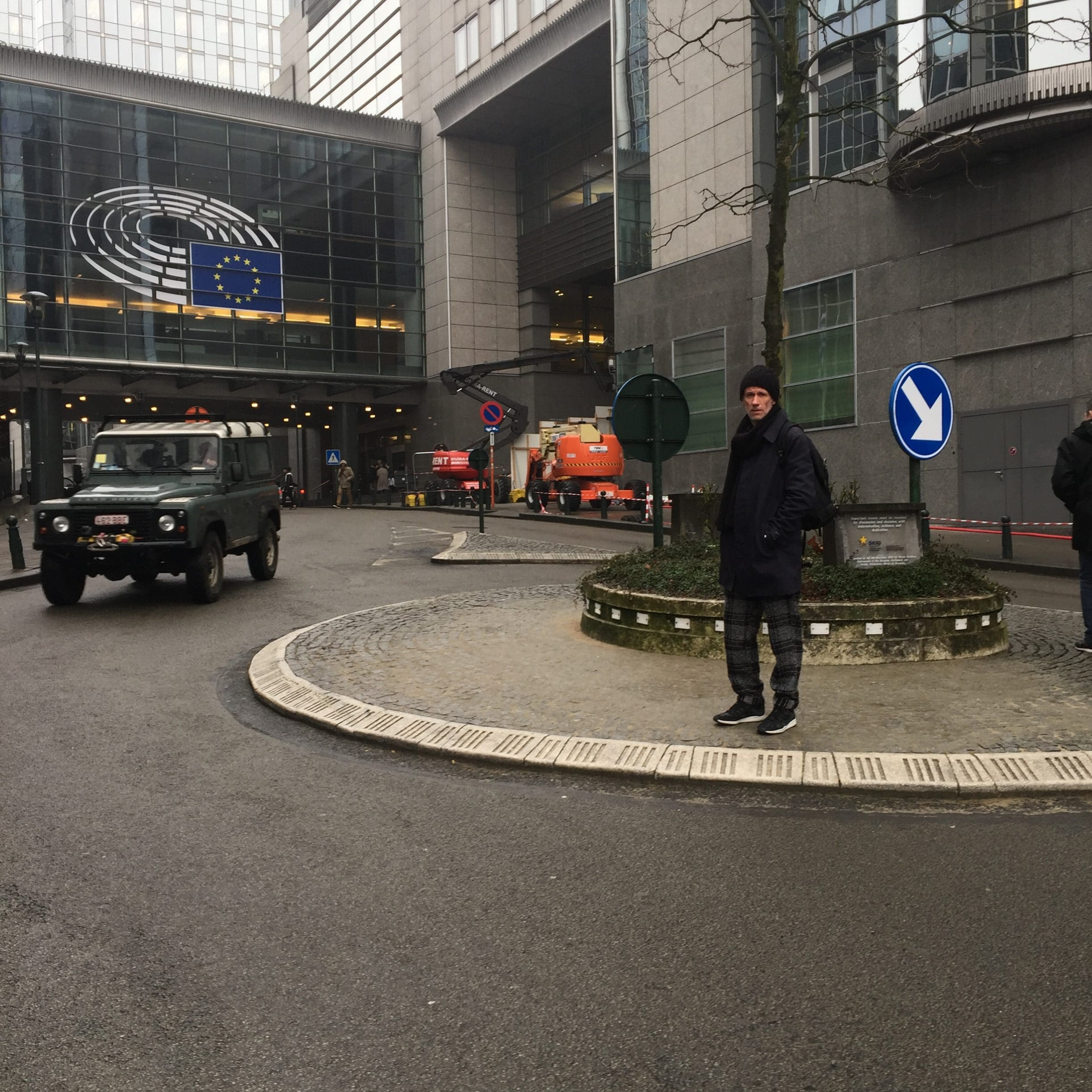 why right now in Brussels?