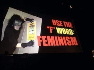 "Use the ""G"" for Guerrilla Girls"