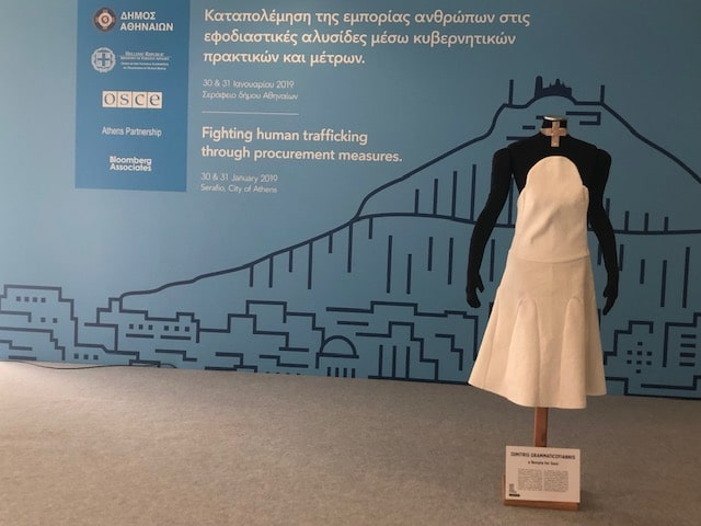 OSCE -co-organised a 2day conference in Athens for prevention of trafficking