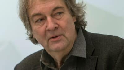 Dr.Rudolf Bartch, Director of Goethe-Institut Thessaloniki/ Dr.Rudolf Bartch, Διευθυντής του Ινστιτούτου Γκαίτε στη Θεσσαλονίκη.